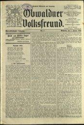 Obwaldner Volksfreund 1924