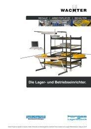 Durchlaufregale & Co.