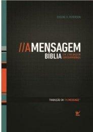 Biblia - A Mensagem