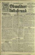 Obwaldner Volksfreund 1926 - Page 5