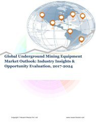 Global Underground Mining Equipment Market (2017-2024)- Research Nester