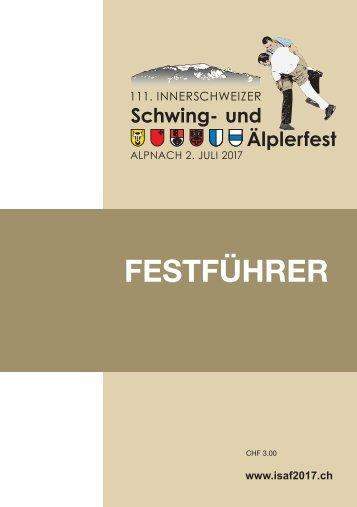 111. Innerschweizer Schwing- & Älplerfest 2017 in Alpnach