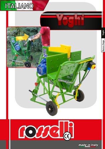 Sega circolare a cavalletto - Yoghi 600