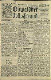 Obwaldner Volksfreund 1930