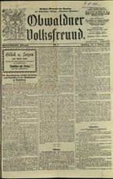 Obwaldner Volksfreund 1932