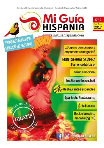 Sommer Ausgabe / Edición de verano 2017