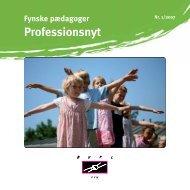 Fynske pædagoger Professionsnyt - Bupl