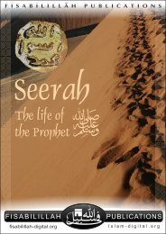 Seerah - The Life of the Prophet (pbuh)