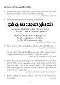 20 Beautiful Sunan of the Prophet - Page 6