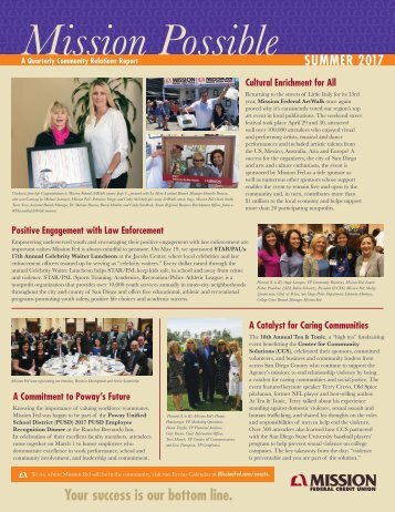 7015_MFCU Summer Newsletter 2017_Single Page