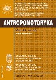 antropomotoryka-kinesiology - Akademia Wychowania Fizycznego ...