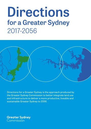 Directions for a Greater Sydney