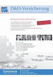 D&O-Versicherung - VOV GmbH