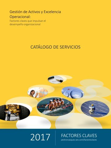 Catalogo 2017 Factores Claves