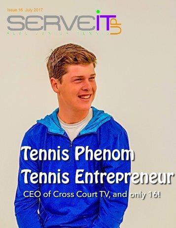 Serveitup Tennis Magazine #17