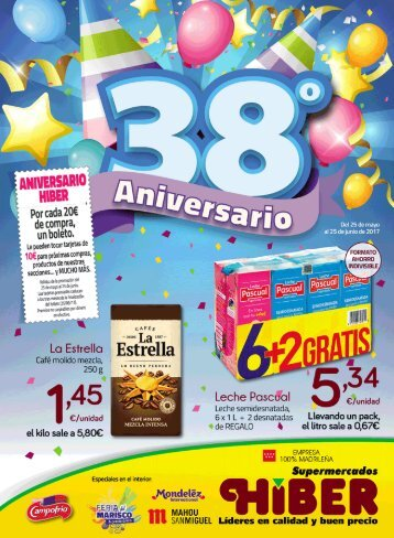 Folleto supermercados Hiber hasta el 25 de Junio 2017