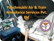 PAnchmukhi Train and Air Ambulance Services to Patient Transfer from Patna to Delhi