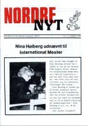 Nina Høiberg udnævnt til - Nordre Skakklub