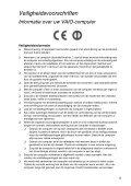 Sony SVS1311A4E - SVS1311A4E Documents de garantie Néerlandais - Page 5