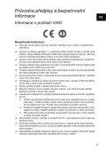 Sony SVS1311A4E - SVS1311A4E Documents de garantie Tchèque - Page 5