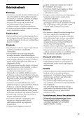 Sony BDV-N990W - BDV-N990W Guide de référence Hongrois - Page 7