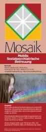 Mobile Sozialpsychiatrische Betreuung - Mosaik GmbH
