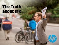 Brochure - The Truth about Ink