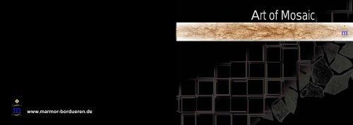 1 Netz Bruchmosaik Brown Beige Mix Marmor Kalkstein Braun Beige
