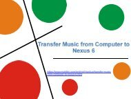 Transfer Music from Computer to Nexus 6