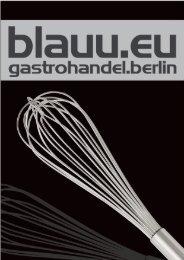 gastrohandel.berlin / blauu.eu 2017