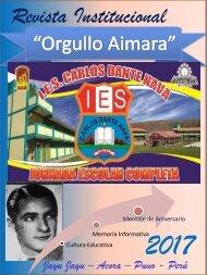 REVISTA INSTITUCIONAL ORGULLO AIMARA I.E.S. JEC CARLOS DANTE NAVA JAYU JAYU