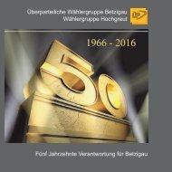 Festschrift 50 Jahre ÜP