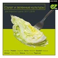 Салат и зеленные культуры 2017 | 2018