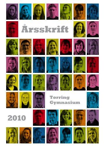 Årsskrift 2010 - Tørring Gymnasium