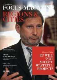 Regions & Cities 2013: Cohesion Policy and Regional Aid