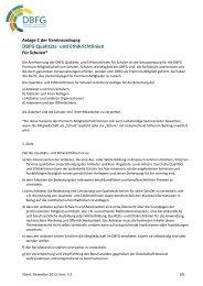 DBFG Qualitaets- und Ethikrichtlinien fuer Seminarleiter und Schulen(1)