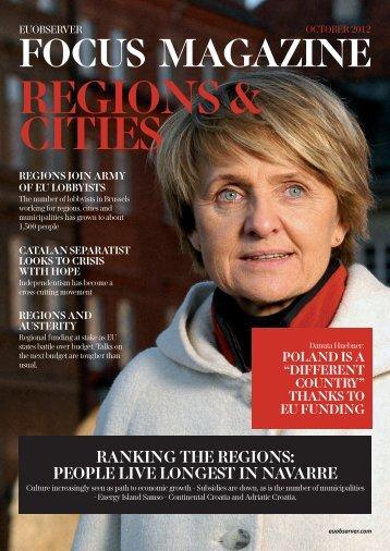 Regions & Cities 2012: Economic Crisis & Austerity