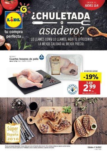 Folleto Lidl del 15 al 21 de Junio 2017 Canarias