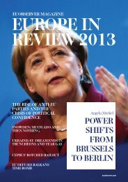Europe in Review 2013