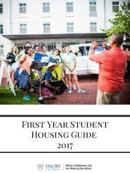 First Year StudentsMove In Guide 2017