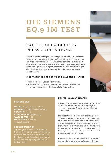 Kaffee Globus - Ausgabe 3