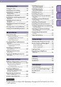 Sony NWZ-S739F - NWZ-S739F Istruzioni per l'uso Danese - Page 5