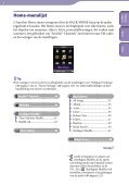 Sony NWZ-S739F - NWZ-S739F Istruzioni per l'uso Olandese - Page 6
