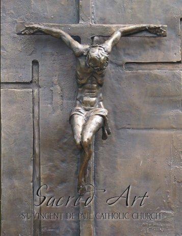 sacred art brochure - Saint Vincent de Paul Catholic Church