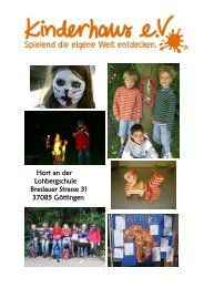 Hort an der Lohbergschule Breslauer Strasse 31 ... - Kinderhaus e.V.