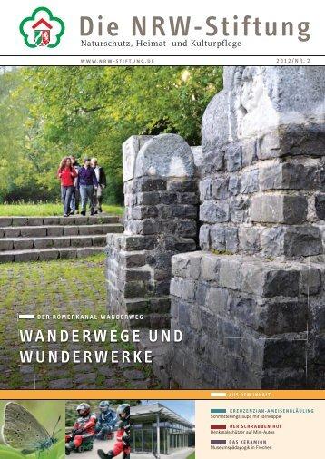 FÜNF JAHRE RENAtE- RöHRScHEIDt-StIFtUNG - NRW-Stiftung