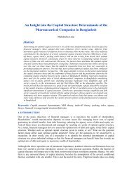 An Insight into the Capital Structure Determinants of the ...