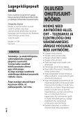 Sony FDR-AX53 - FDR-AX53 Consignes d'utilisation Estonien - Page 2