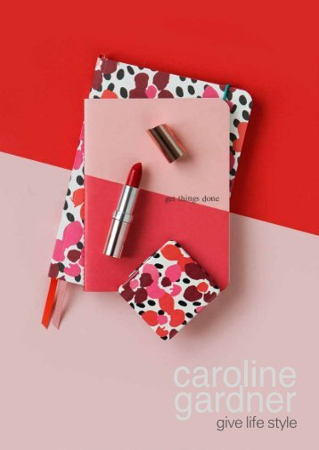 Caroline Gardner AW17 Gift Catalogue USA
