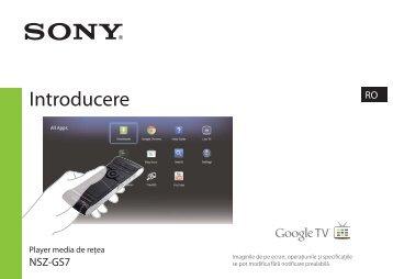 Sony NSZ-GS7 - NSZ-GS7 Guide de référence Roumain